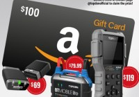 AMAZON Gift Card And TOPDON New Products Giveaway