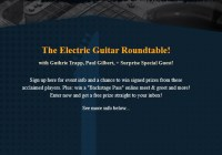 ArtistWorks Guitar Roundtable Sweepstakes