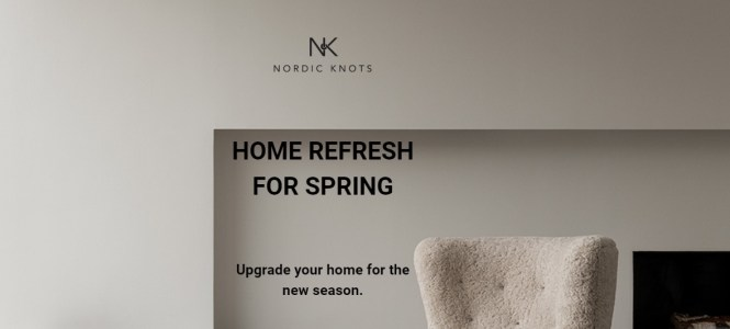 Nordic Knots Home Refresh For Spring Giveaway