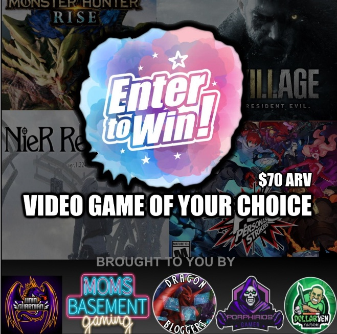 Dragonblogger Resident Evil Village Or Any Video Game You Want Giveaway