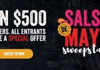 FoodStory Brands Salsa De Mayo Sweepstakes