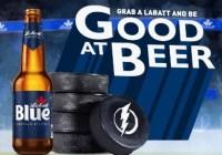 Labatt Blue Light Bad At Buckets Sweepstakes