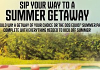 Dos Equis Summer Getaway Sweepstakes