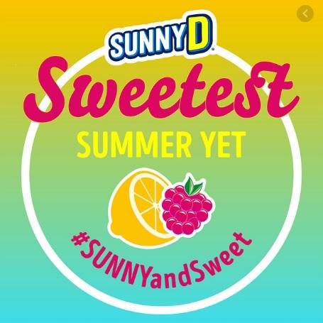 SUNNYD Sweetest Summer Yet TikTok Challenge Contest