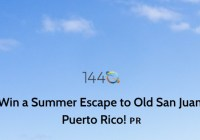 Summer Escape To Old San Juan Sweepstakes