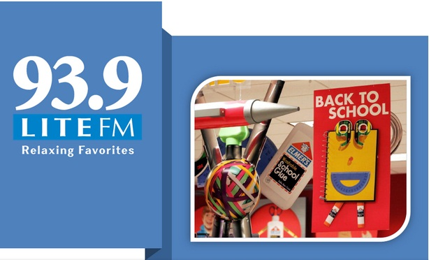 93.9 LITE FM Back To School Sweepstakes.