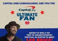 Capital One Ultimate Fan Sweepstakes.