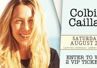 Capitol Federal Amphitheater Colbie Caillat Ticket Giveaway