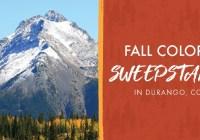 Durango Fall Colors Sweepstakes