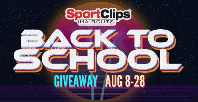 Sport Clips Haircuts Back To School Giveaway