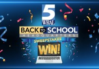WRAL Morning News Back To School Sweepstakes