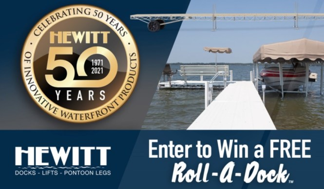 Hewitt Roll-A-Dock Giveaway