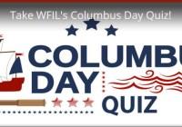 Take WFIL Columbus Day Quiz Contest