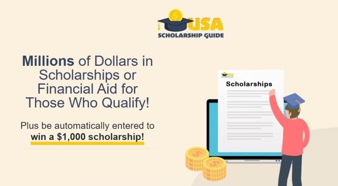 USA Scholarship Guide $1000 Scholarship Sweepstakes