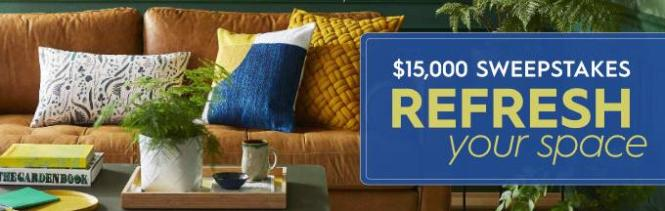 Bhg Refresh Your Space 15k Sweepstakes Win 15 000 Check