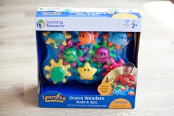 E: 25/07 Win kids a Spin and Build Ocean Wonders Set