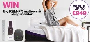 #Win The REM-Fit Sleep 400 Hybrid Mattress!