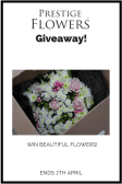 Win a Bouquet of Flowers by Prestige flowers E:07/04