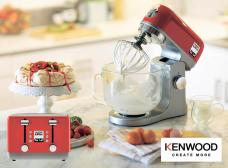 Fancy upgrading your kitchen accessories? Win a complete Kenwood set E:27/05