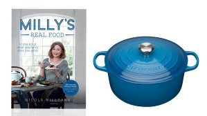 Win a copy of Milly's Real Food and a Le Creuset Casserole worth £220 E:21/05