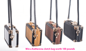 Win a clutch bag worth £100 E:22/08