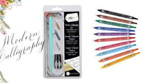 World Calligraphy Day 2017 : Win a Beginners Calligraphy Set E:17/09 – Family Clan Blog
