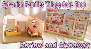 Sylvanian Families Cake Shop Review and Giveaway E:06/10