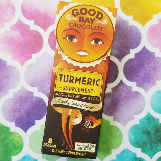 Turmeric supplement - Good Day Chocolate