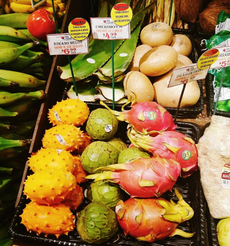 Exotic fruits at Nino Salvaggio's