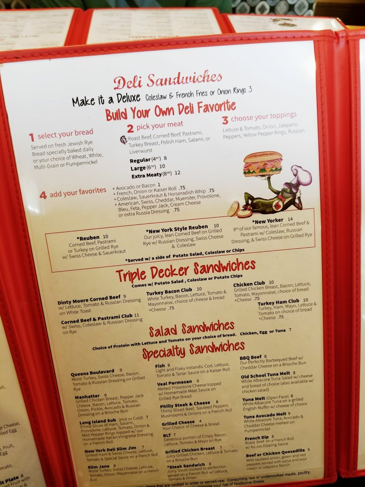 New-York-Deli-N-Restaurant - St Clair Shores, MI - Menu