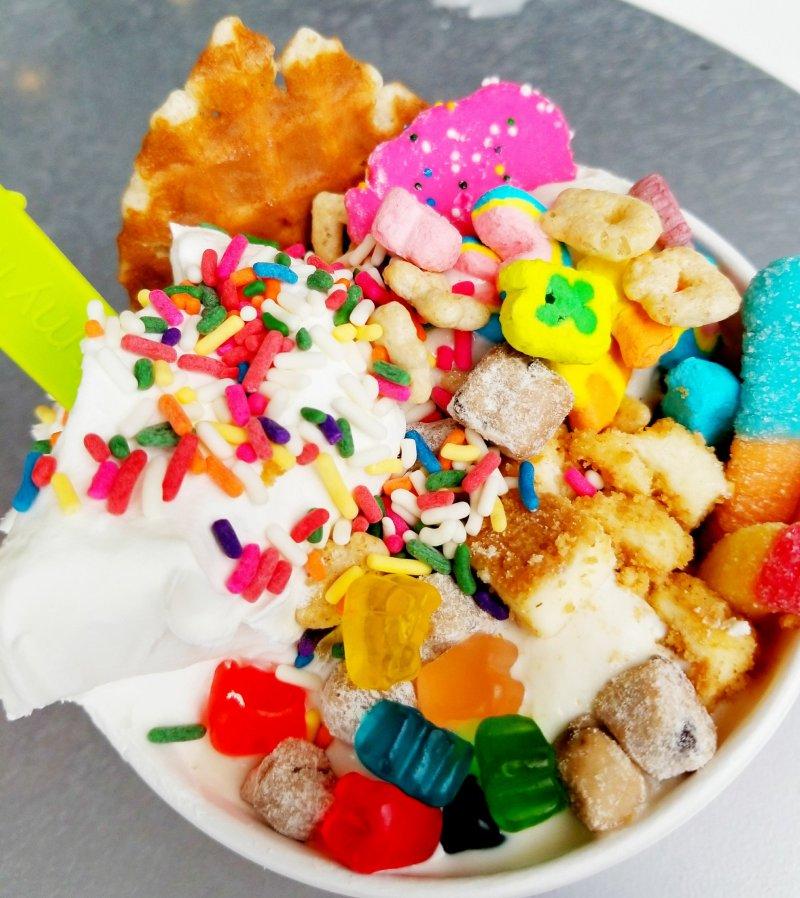 Menchie's Frozen Yogurt (Froyo) Build-Your-Own Creation