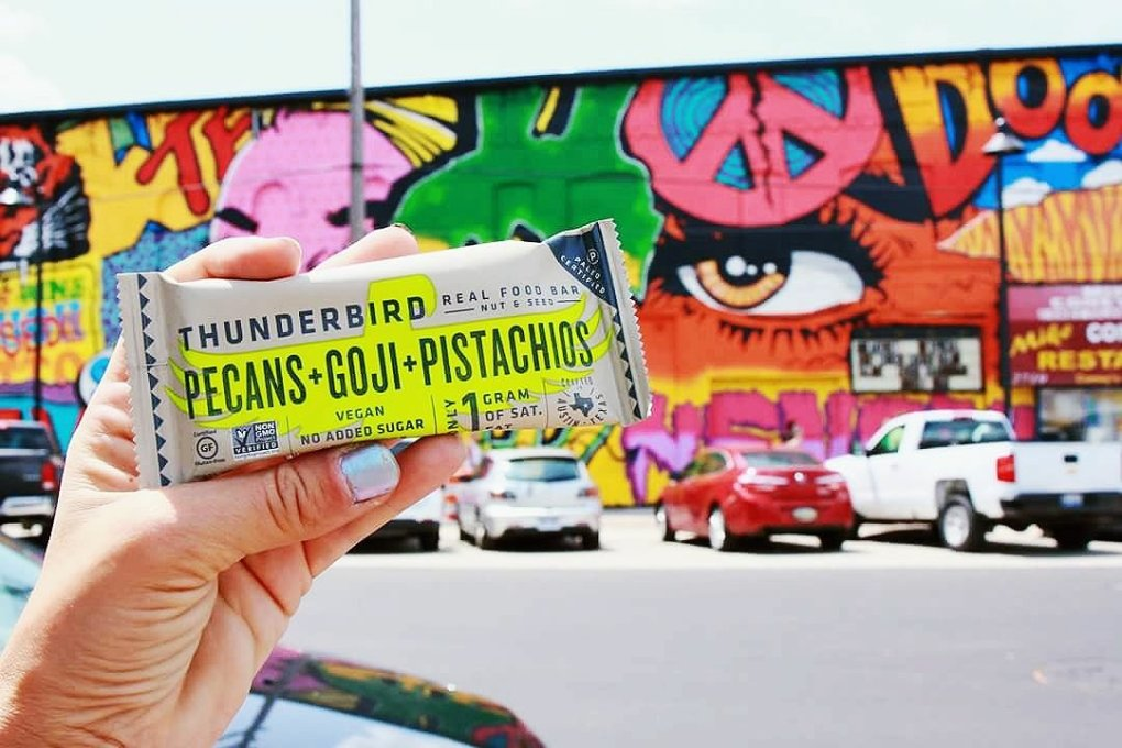 Thunderbird Bar Pecans + Goji + Pistachio in Eastern Market, Detroit, MI