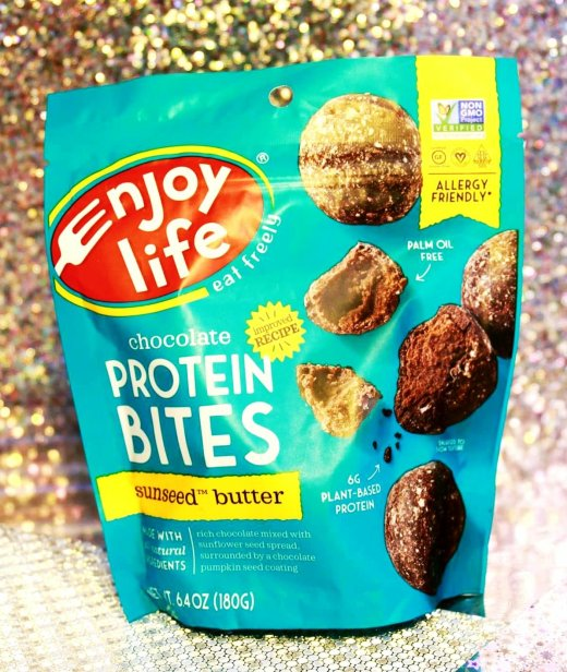 Enjoy Life Foods Gluten-Free Protein Bites - Sunseed Butter