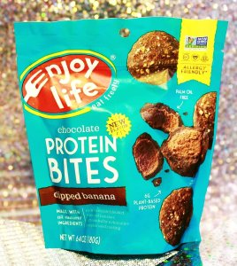 Enjoy Life Foods Gluten-Free Protein Bites - Dipped Banana