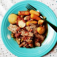 Paleo Pot Roast With Parsnips RECIPE Gluten-Free, Slow-Cooker - When Comfort & Simplicity Collide