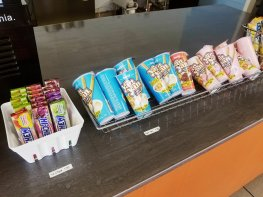 Asian snacks available at Kawaii Bubble Tea