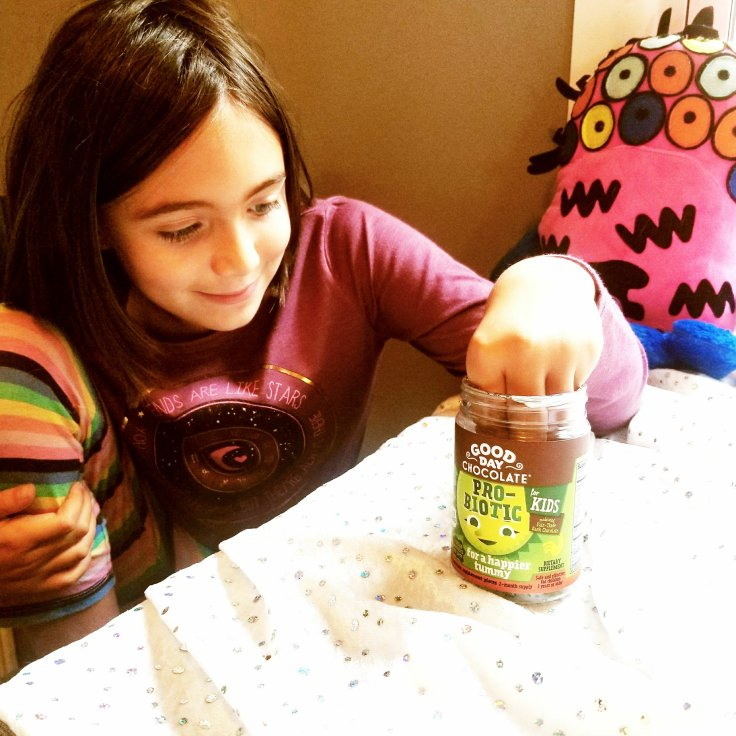Chloe With Good Day Chocolate For Kids Probiotic