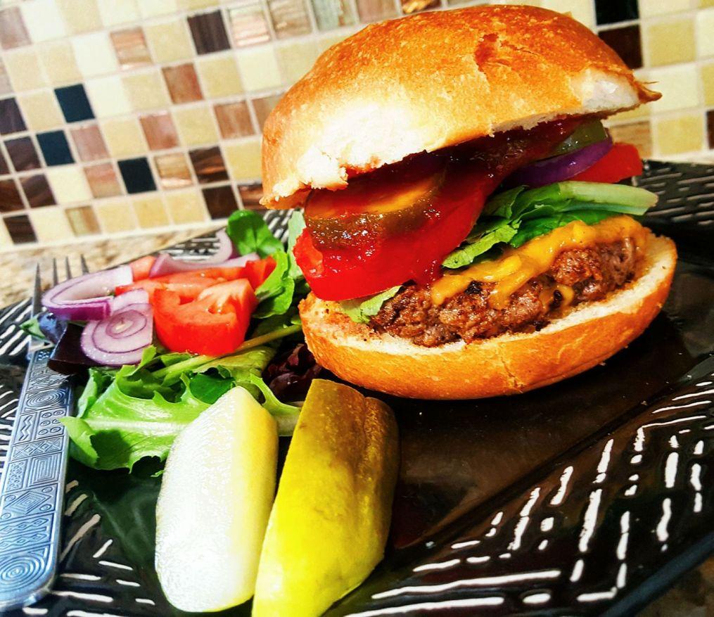 HelloFresh Cheddar Smash Burger