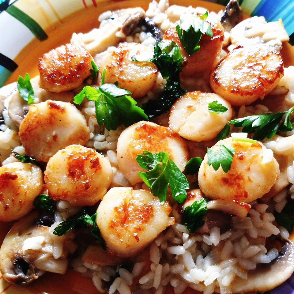 Scallop meal from HelloFresh