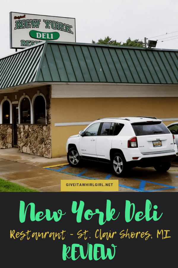 New York Deli St. Clair Shores Restaurant REVIEW