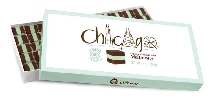 Chocolate Mint Meltaways CHICAGO CLASSIC CONFECTIONS