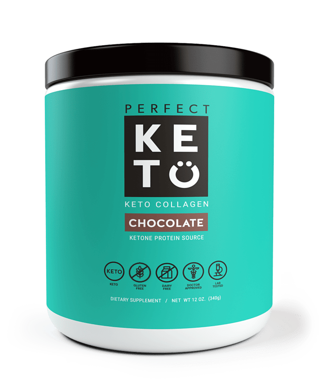 perfect keto - Perfect Keto - Keto Collagen Chocolate - Not Just For Keto