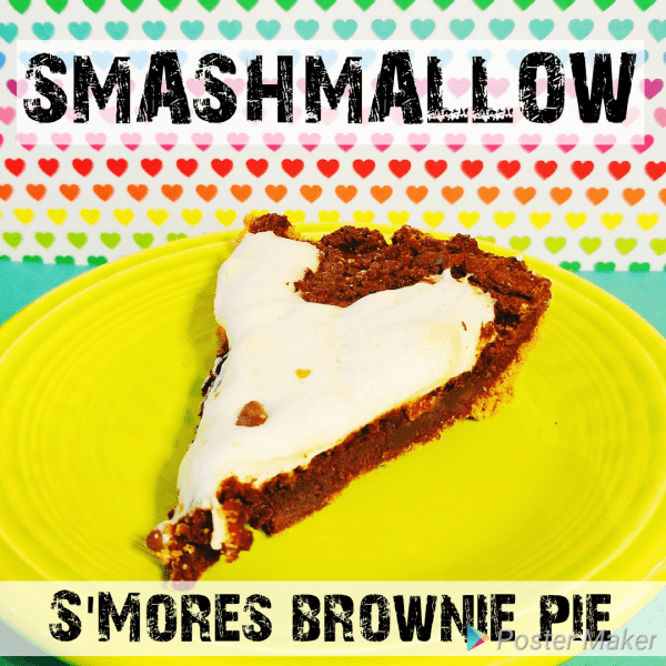 Smashmallow Brownie Pie Recipe