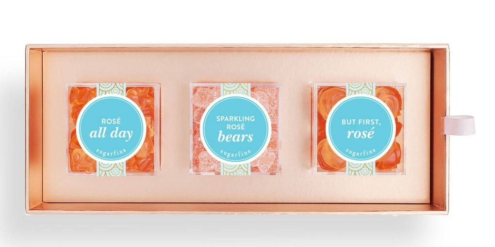 Sugarfina Rose 3 Piece Gift Set