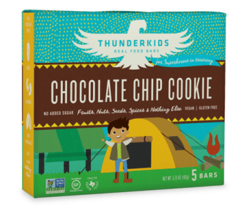 Thunderbird Bar Thunderkids - Chocolate Chip Cookie (image courtesy of thunderbirdbar.com)