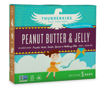 Thunderbird Bar Thunderkids - Peanut Butter & Jelly (image courtesy of thunderbirdbar.com)