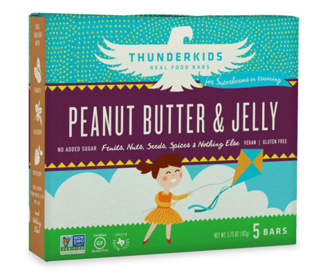 Thunderbird Bar Thunderkids - Peanut Butter & Jelly (image courtesy of thunderbirdbar.com)