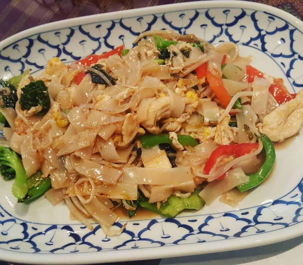 The Thai version of Drunken Noodles