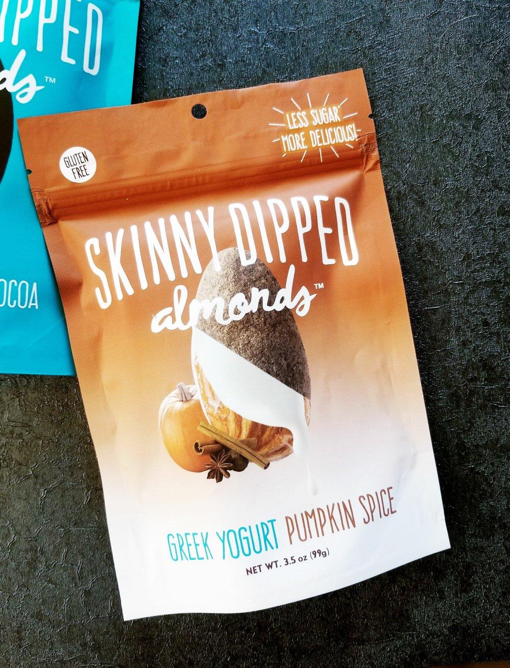 Skinny Dipped Almonds -Greek Yogurt Pumpkin Spice