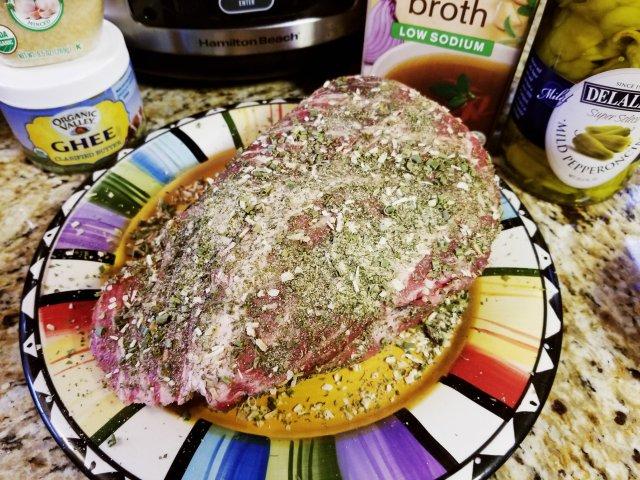 Ranch rub for Paleo Mississippi Pot Roast
